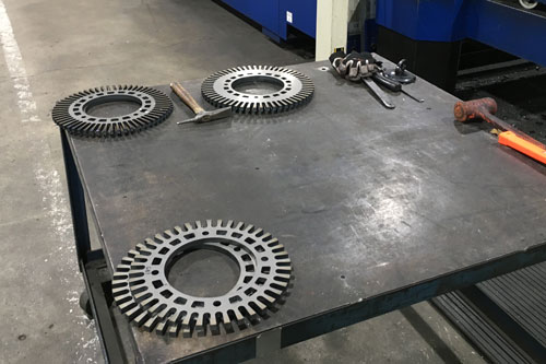 GE Rotary Flanges
